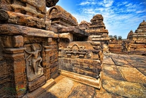 Pattadakal temple in India